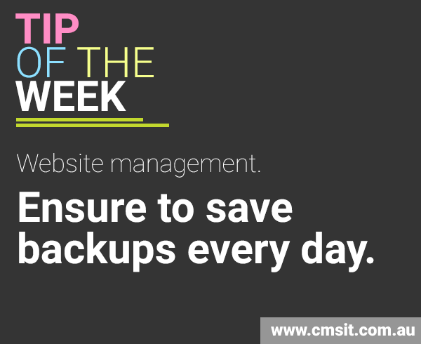 backup IT solutions