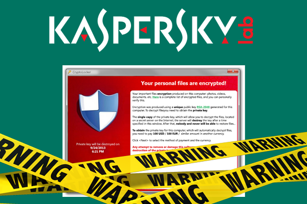 Kaspersky close to defeating Ransomware and Cryptolocker - CMS IT