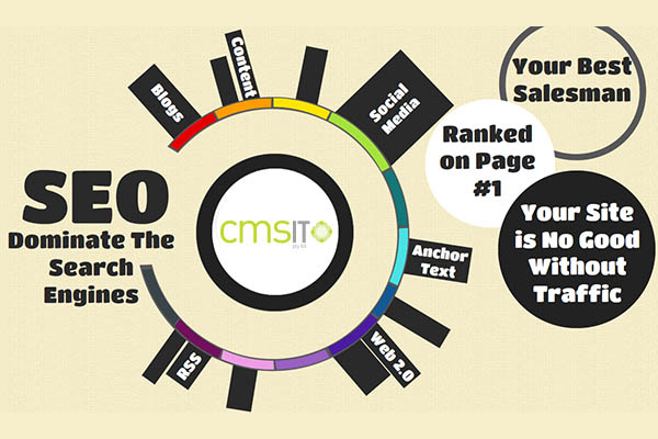 Improving Online Visibility with SEO through IT Management Services - CMS IT